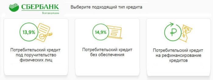 кредит на 60 тысяч рублей сбербанк